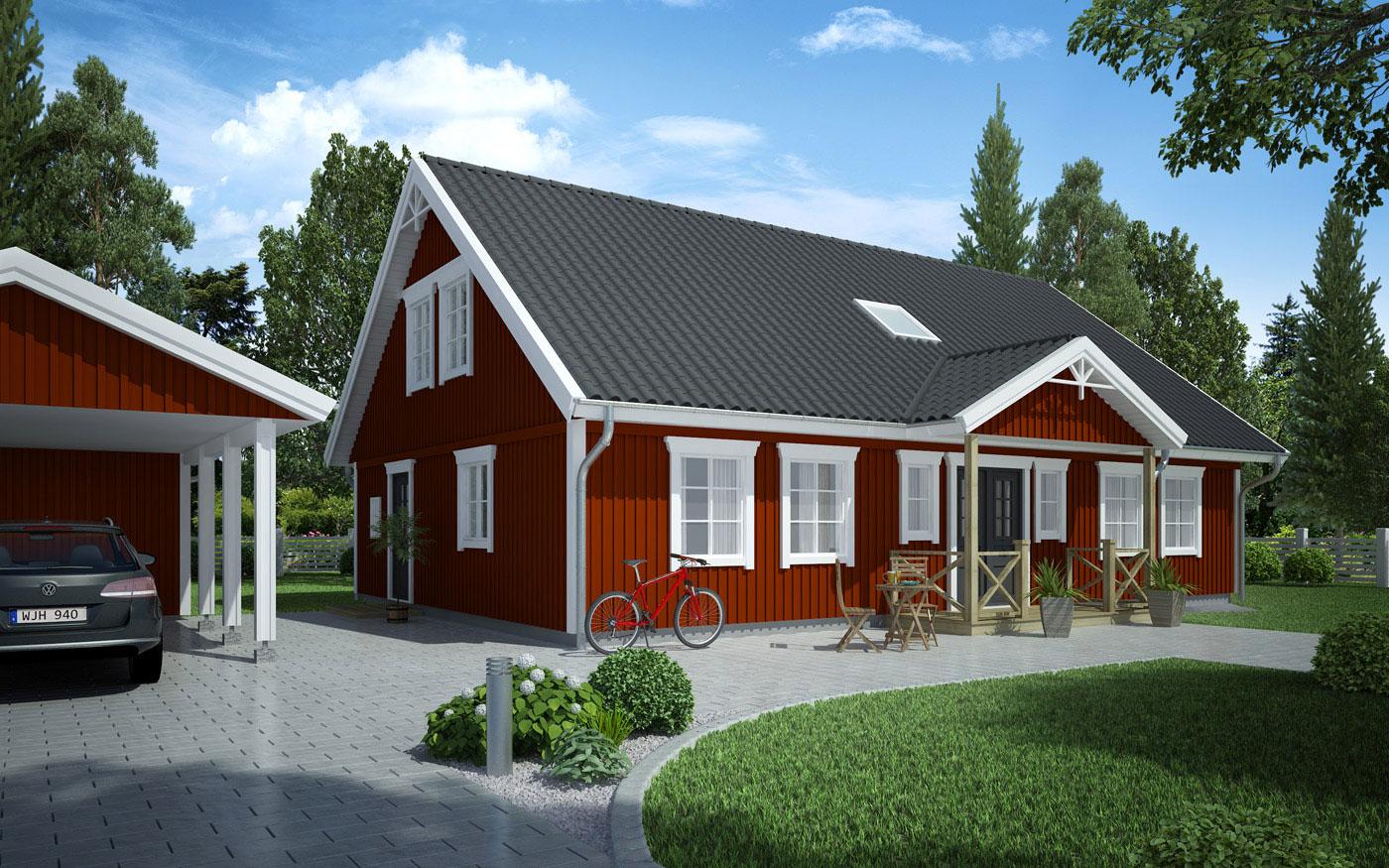 Mjöbäcksvillan - Sörgården